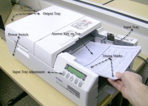 device used to read optical marks from paper