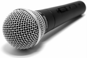 Among many input devices microphone also known as mic gives voice as input to the computer