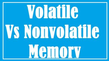 difference between volatile and non-volatile memory in computer system